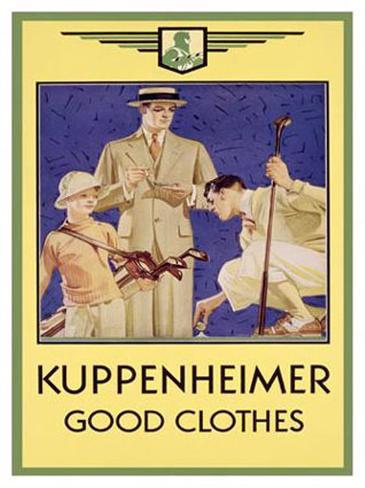 Kuppenheimer Giclee Print