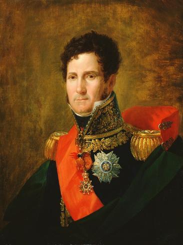 Portrait of Felix Baciocchi Giclee Print