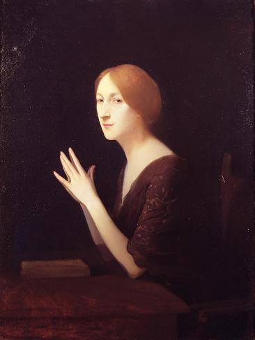 Portrait of Marguerite Moreno Before 1899 Giclee Print