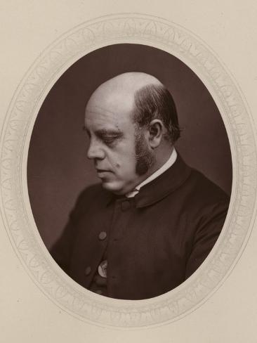 Joseph Lightfoot, English Theologian and Bishop of Durham Stampa fotografica