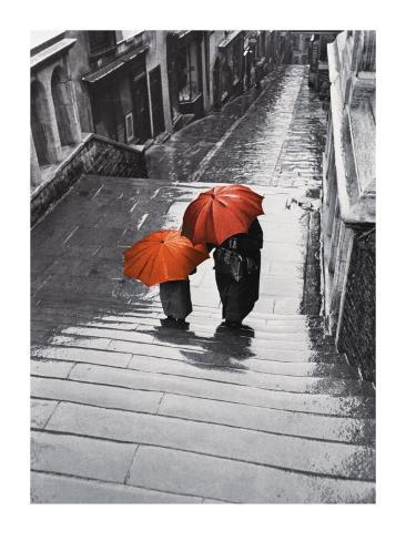 Bristol Rain, c.1954 Art Print