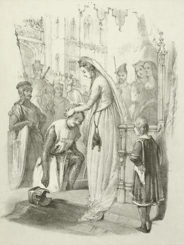 The Chaplet of Honour Giclee Print