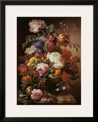 Grandmother's Bouquet I Framed Art Print