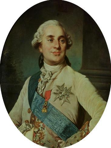 Portrait Medallion of Louis XVI (1754-93) 1775 Lámina giclée
