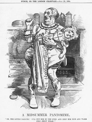 A Midsummer Pantomime, 1884 Giclee Print