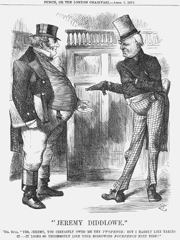 Jeremy Diddlowe, 1872 Giclee Print