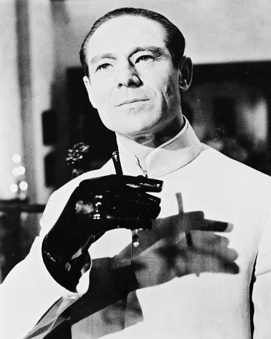 Joseph Wiseman, Dr. No (1962) Fotografía