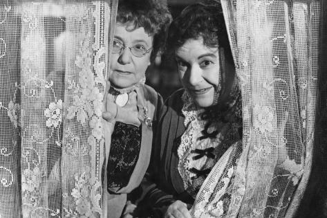 Josephine Hull, Jean Adair, Arsenic and Old Lace, 1944 Photographic Print