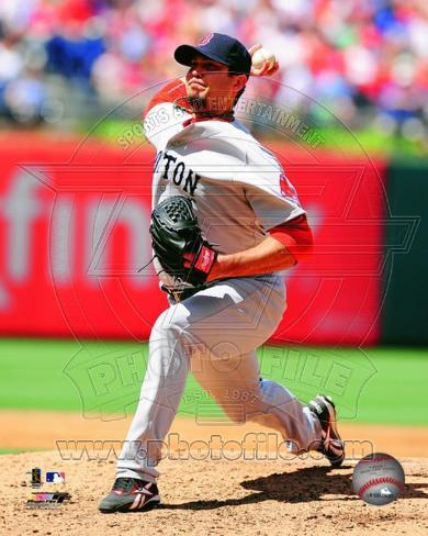 Josh Beckett 2012 Action Photo