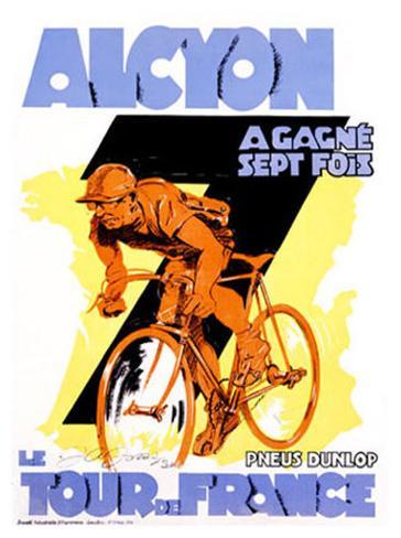 Alcyon, Tour de France Giclee Print