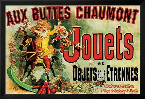 Jouets Lamina Framed Poster