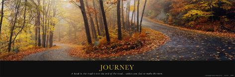 Journey Lamina Framed Art Print
