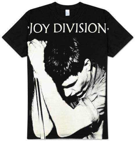 Joy Division - Ian Curtis Sublimated