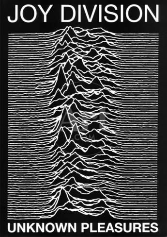 Joy Division Punk Poster Unknown Pleasures Ian Curtis Photo At