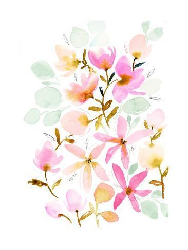 Dreams in Pastel Stampa artistica