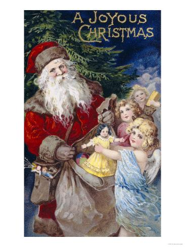 Joyous Christmas to All Giclee Print