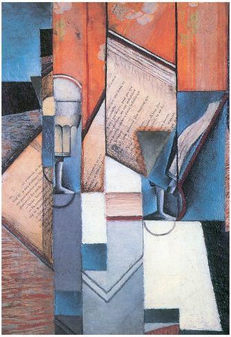 Juan Gris The Book Art Print Poster Poster