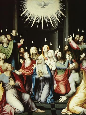 The Pentecost Giclee Print