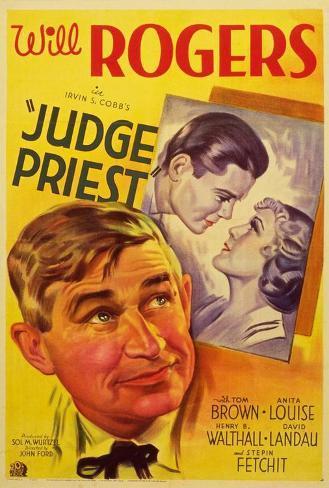 Judge Priest Poster