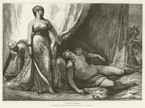 Judith and Holofernes Lámina giclée