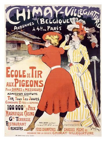 Chimay, Villegiature Giclee Print