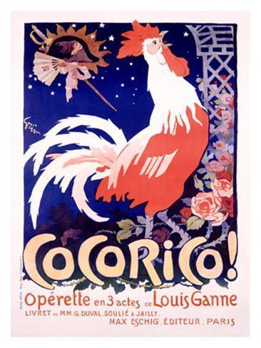 Cocorico Giclee Print