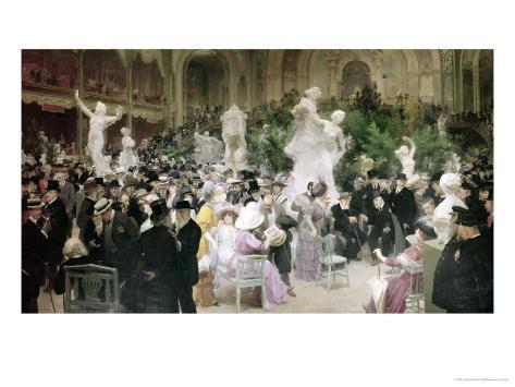 Friday at the French Artists' Salon, 1911 Lámina giclée