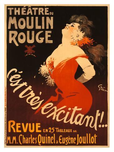 Theatre du Moulin Rouge Giclee Print
