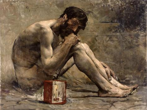 Diogenes, 1905 Giclee Print