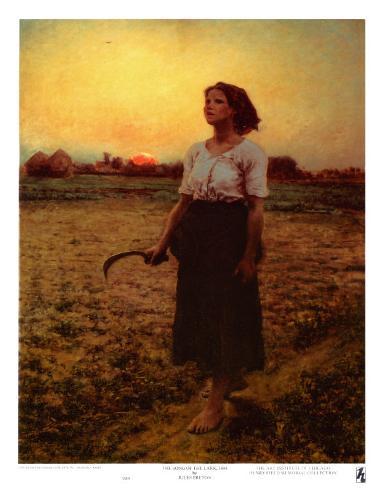 The Song of the Lark Art Print