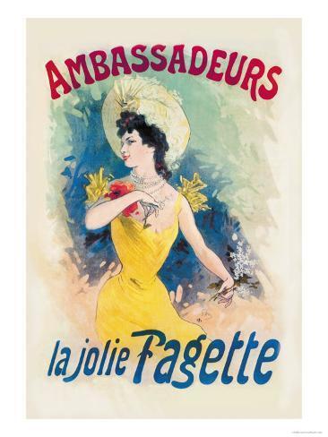 Ambassadeurs: La Jolie Fagette Art Print