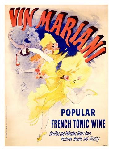Cheret Vin Mariani Tonic Giclee Print