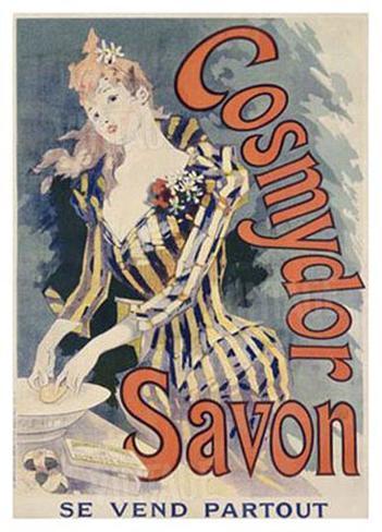 Cosmydor Savon Giclee Print