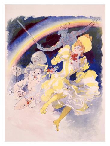 Folies Bergere, Arc En Ciel Giclee Print