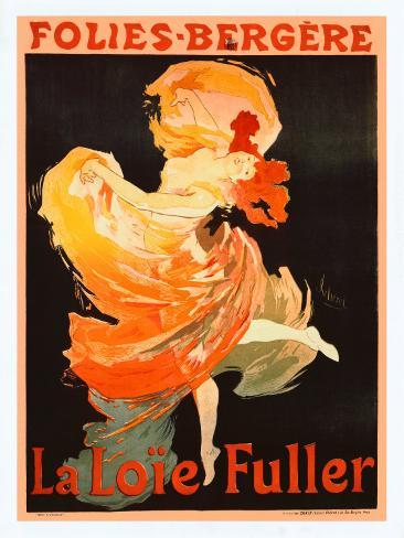 Folies Bergere, La Loie Fuller Giclee Print