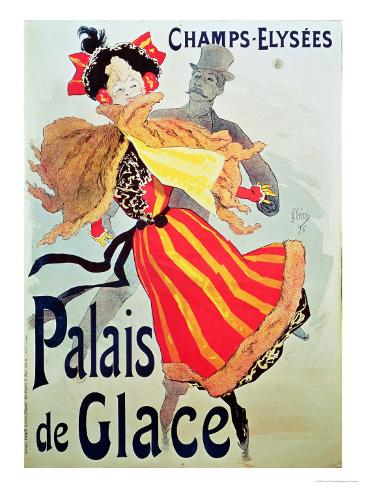 Ice Palace, Champs Elysees, Paris, 1893 Giclee Print