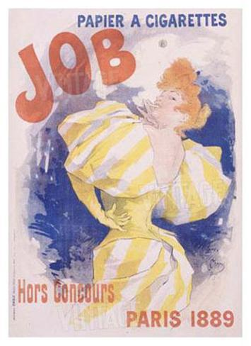 Job Papier and Cigarettes Giclee Print