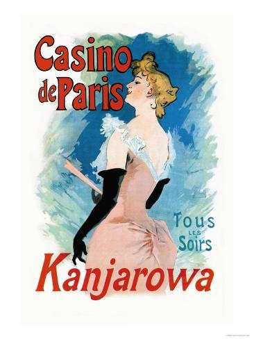 Kanjarowa: Casino de Paris Art Print