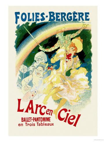 L'Arc En Ciel: Folies-Bergere Art Print