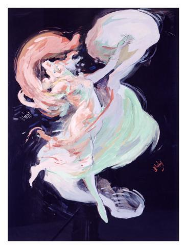 Loie Fuller Maquette, 1893 Giclee Print