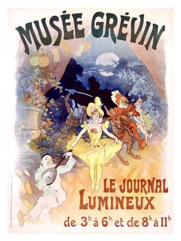 Musee Grevin, Le Journal Lumineux Giclee Print