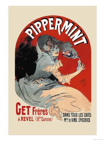 Pippermint Art Print