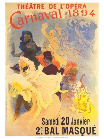 Theatre de l'Opera Art Print