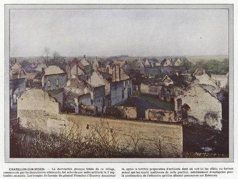 Chatillon-Sur-Morin Stampa fotografica