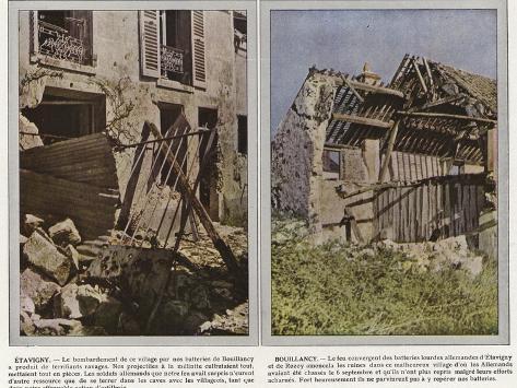 Etavigny, Bouillancy Stampa fotografica