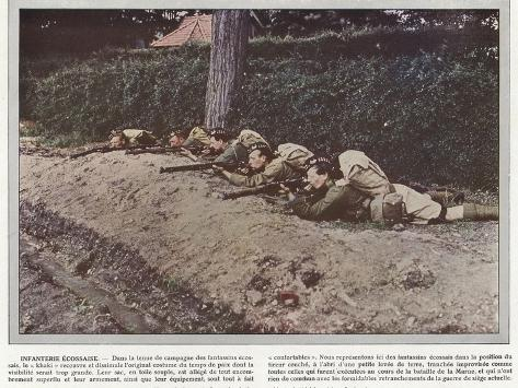 Infanterie Ecossaise Stampa fotografica