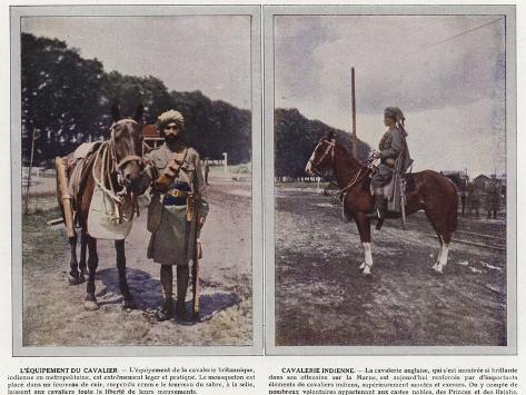 L'Equipement Du Cavalier, Cavalerie Indienne Stampa fotografica