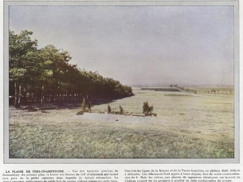 La Plaine De Fere-Champenoise Stampa fotografica