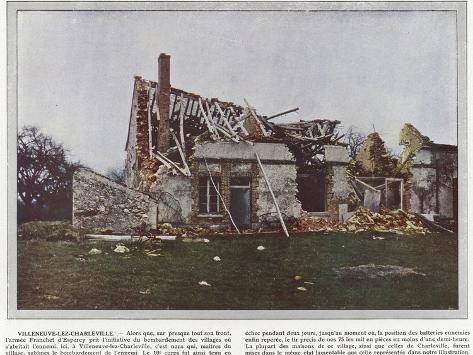 Villeneuve-Lez-Charleville Stampa fotografica