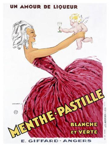 Menthe-Pastille Giclee Print